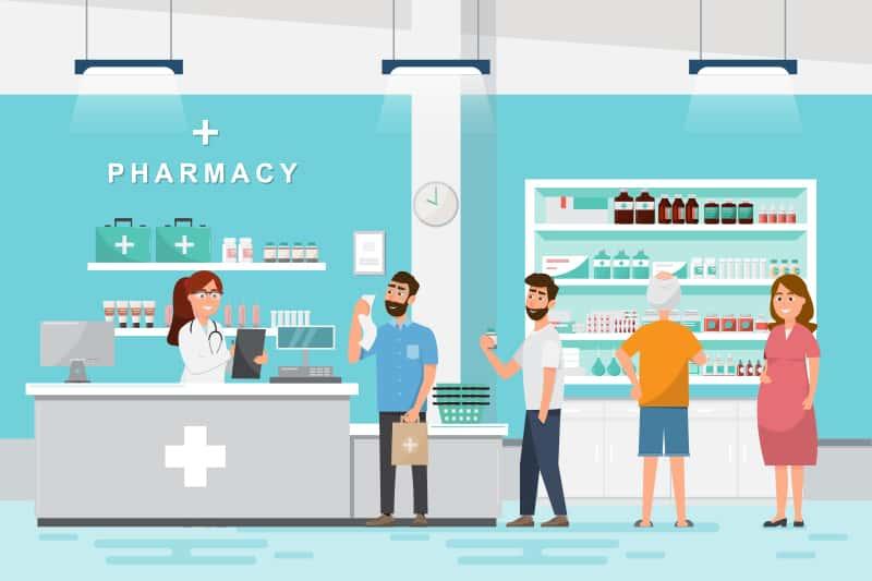 Interno farmacia: agli italiani piace