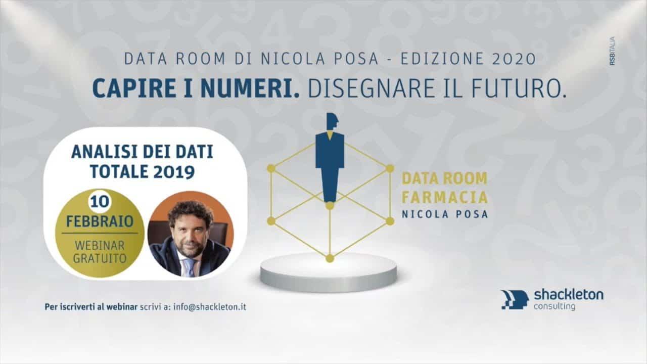 Nicola Posa commenta i dati New Line sulla farmacia: il Data Room di febbraio 2020