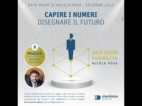 Nicola Posa commenta i dati New Line sulla farmacia: il Data Room di maggio 2020
