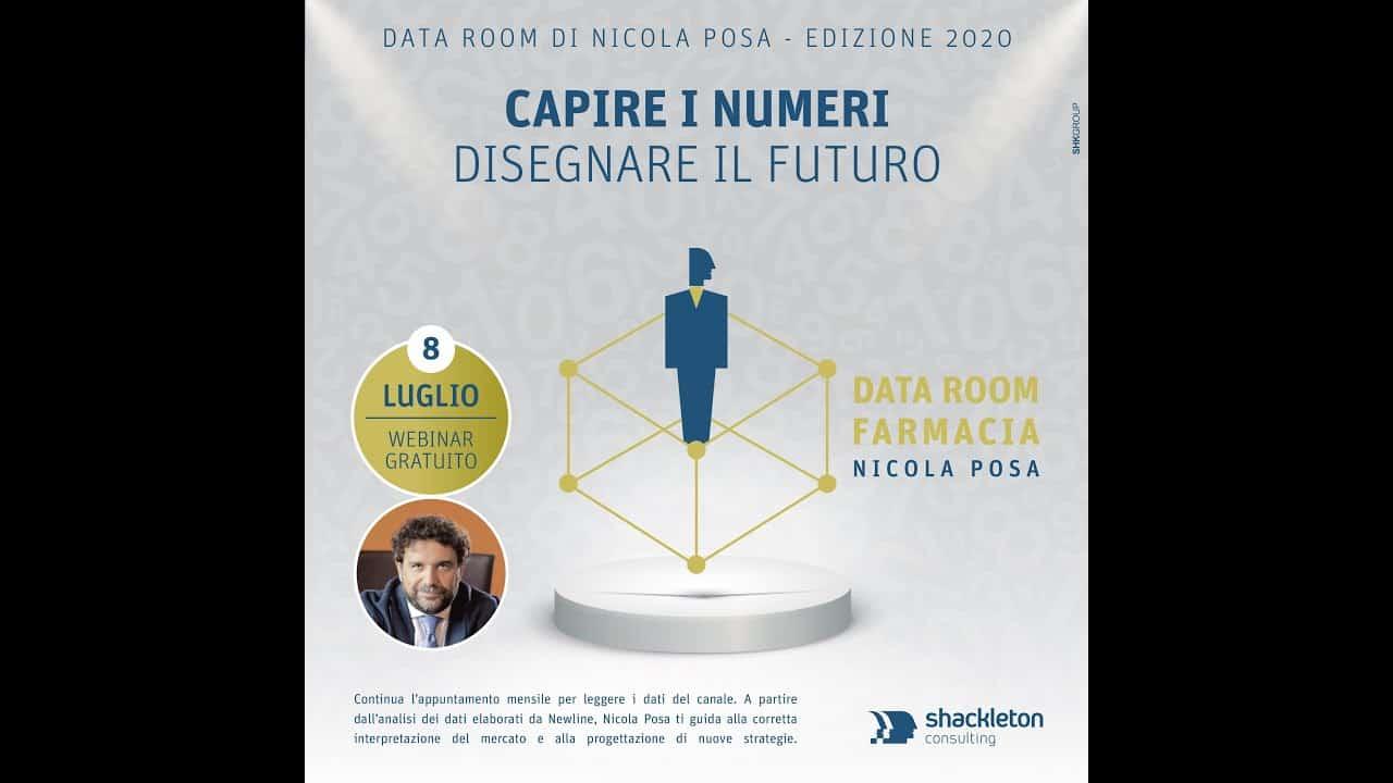 Nicola Posa commenta i dati New Line sulla farmacia: il Data Room di luglio 2020