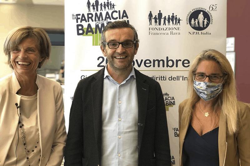 """Fondazione Rava: """"In farmacia per i bambini"""", quest'anno serve ancora più solidarietà"""