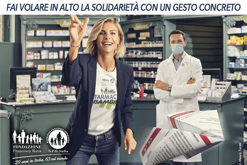 """Fino al 27 novembre, la raccolta di farmaci """"In Farmacia per i bambini"""""""