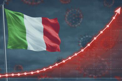 Italia divisa in zone, le vendite in farmacia aumentano nell'ultima settimana, picco per gli antinfiammatori
