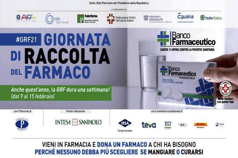 Nonostante le difficoltà, cinquemila farmacie aderiscono alla Giornata di raccolta del farmaco