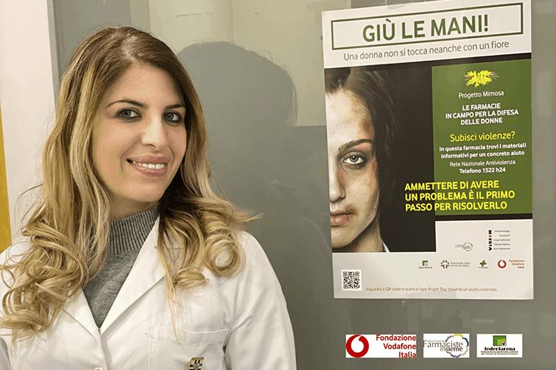 Progetto Mimosa: anche una App per la campagna in farmacia contro la violenza domestica